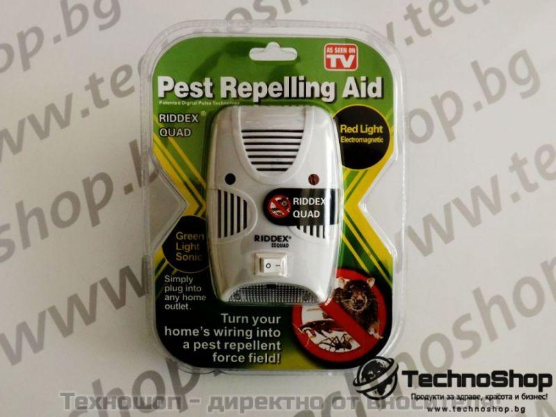 Уред за борба с хлебарки и други насекоми - Riddex Quad