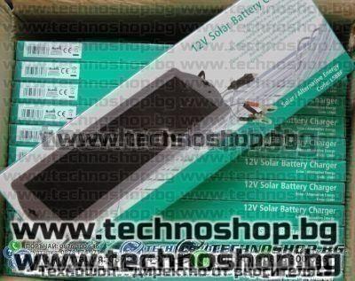 Соларни зарядни-12V- за АВТОакумулатори, Лаптопи, Аудио, ТВ и др.